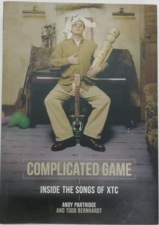 Andy Partridge COMPLICATED GAME First Edition Signed Paperback