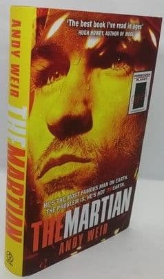 Andy Weir THE MARTIAN Signed Limited Edition