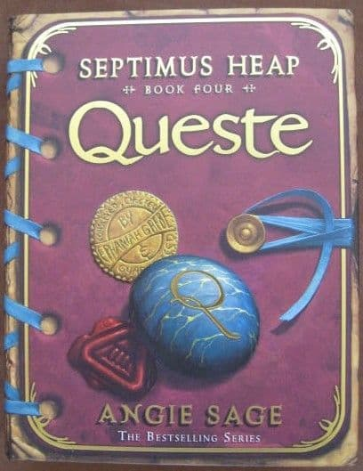 Angie Sage QUESTE First Edition Signed