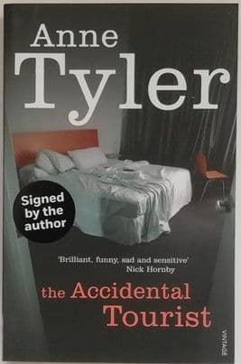 Anne Tyler THE ACCIDENTAL TOURIST Signed Paperback