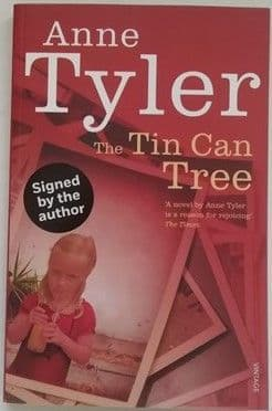 Anne Tyler THE TIN CAN TREE Signed Paperback