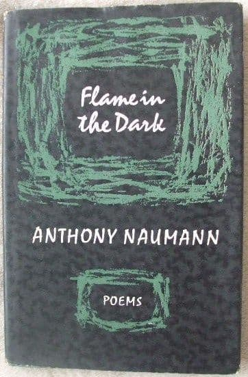 Anthony Naumann FLAME IN THE DARK First Edition Signed