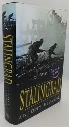 Antony Beevor STALINGRAD Signed First Edition Second Printing