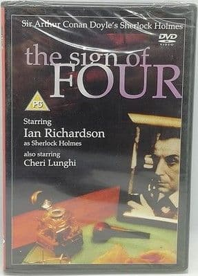 Arthur Conan Doyle THE SIGN OF FOUR Sealed DVD Ian Richardson