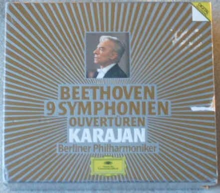 Beethoven 9 SYMPHONIES 6 CD Box Set Karajan