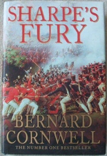 Bernard Cornwell SHARPE'S FURY First Edition