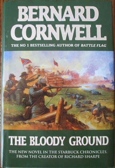Bernard Cornwell THE BLOODY GROUND First Edition