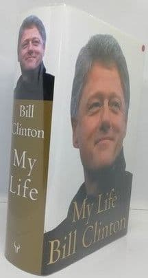 Bill Clinton MY LIFE First Edition Signed With Typo