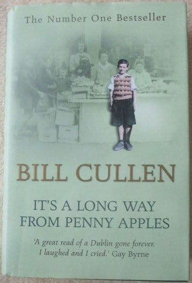 Bill Cullen IT'S A LONG WAY FROM PENNY APPLES First Edition Signed