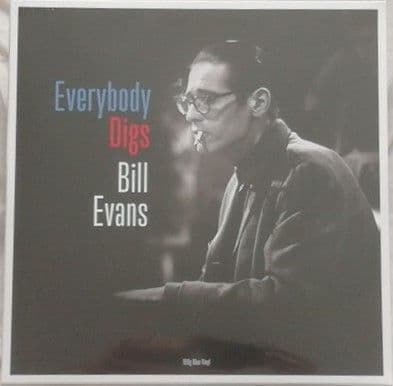 Bill Evans EVERYBODY DIGS BILL EVANS 180g Blue Vinyl Sealed