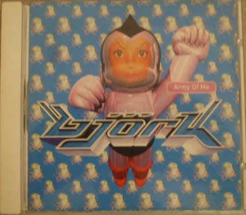 Bjork ARMY OF ME 4 Track CD Single