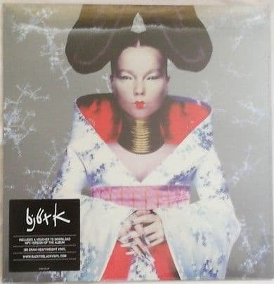Bjork HOMOGENIC 180g Vinyl LP Sealed