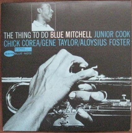 Blue Mitchell THE THING TO DO Vinyl LP 1985 Reissue