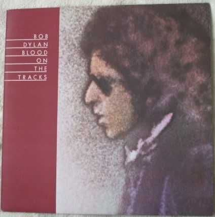 Bob Dylan BLOOD ON THE TRACKS Vinyl LP UK 1974