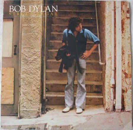 Bob Dylan STREET LEGAL Vinyl LP