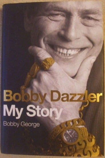 Bobby George BOBBY DAZZLER MY STORY First Edition Signed