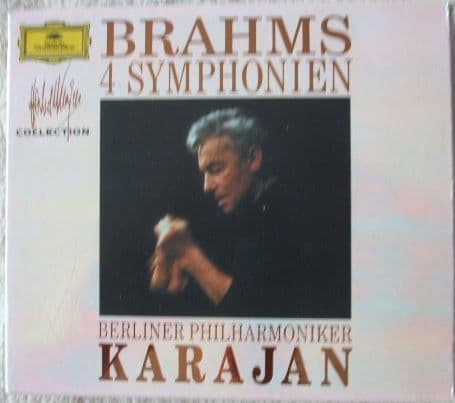 Brahms THE FOUR SYMPHONIES CD Box Set Karajan