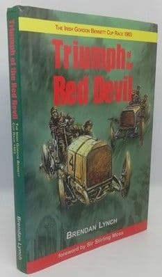 Brendan Lynch TRIUMPH OF THE RED DEVIL First Edition Double Signed