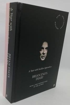 Brian Eno A YEAR WITH SWOLLEN APPENDICES Signed Anniversary Edition
