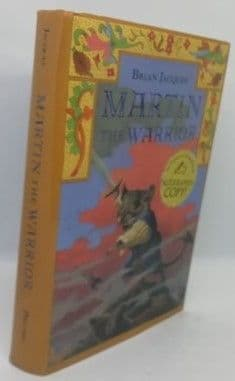 Brian Jacques MARTIN THE WARRIOR First American Edition Signed