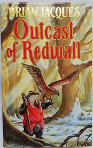 Brian Jacques OUTCAST OF REDWALL First Edition Signed