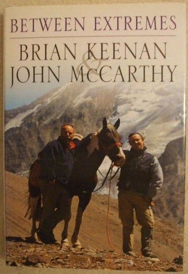 Brian Keenan John McCarthy BETWEEN EXTREMES First Edition Double Signed