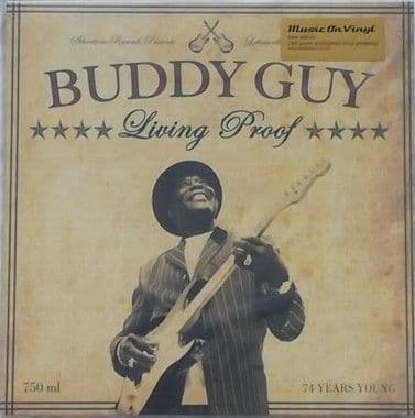 Buddy Guy LIVING PROOF Double LP Sealed