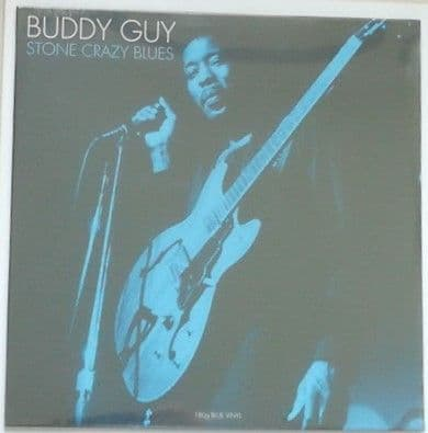 Buddy Guy STONE CRAZY BLUES 180g Blue Vinyl Sealed