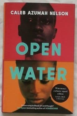 Caleb Azumah Nelson OPEN WATER First Edition Signed
