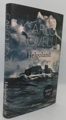Carlo Rovelli HELGOLAND First Edition Signed
