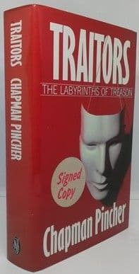 Chapman Pincher TRAITORS First Edition Signed