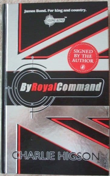 Charlie Higson BY ROYAL COMMAND Signed Limited Edition