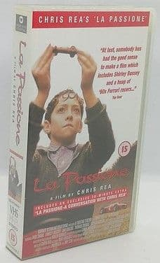 Chris Rea LA PASSIONE VHS Paul Shane