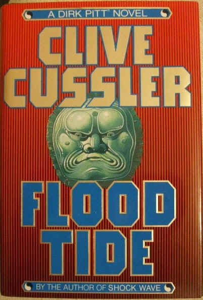 Clive Cussler FLOOD TIDE First Edition