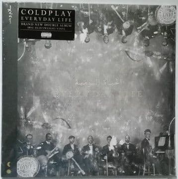 Coldplay EVERYDAY LIFE 180g Double Vinyl LP Sealed