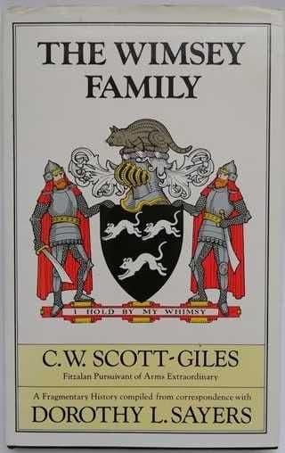 CW Scott-Giles THE WIMSEY FAMILY First Edition
