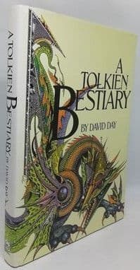 David Day A TOLKIEN BESTIARY Signed Hardback