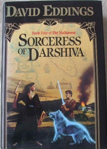 David Eddings SORCERESS OF DARSHIVA First Edition