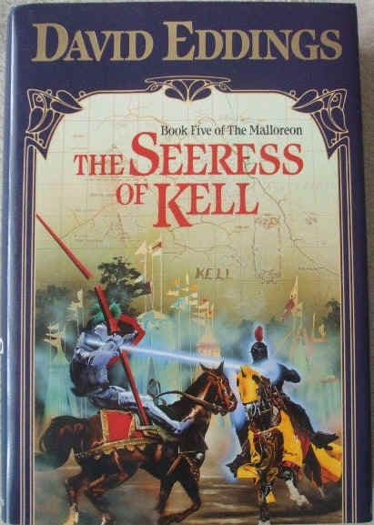 David Eddings THE SEERESS OF KELL First Edition