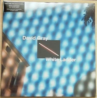 David Gray WHITE LADDER Double LP White Vinyl Sealed