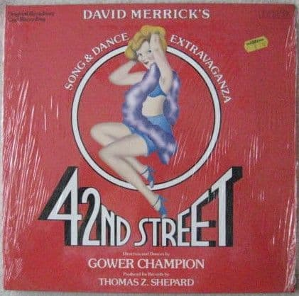 David Merrick 42ND STREET Vinyl LP Sealed