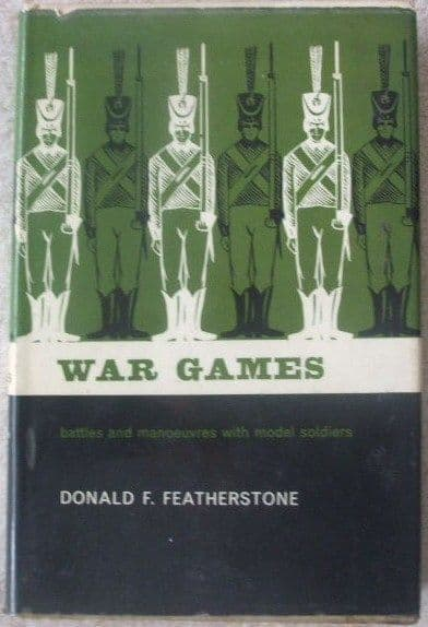 Donald F Featherstone WAR GAMES First Edition Second Print 1965