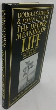 Douglas Adams John Lloyd THE DEEPER MEANING OF LIFF First Edition