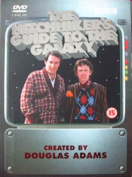 Douglas Adams THE HITCHHIKER'S GUIDE TO THE GALAXY DVD