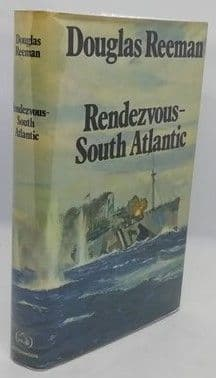 Douglas Reeman RENDEZVOUS SOUTH ATLANTIC First Edition Double Signed