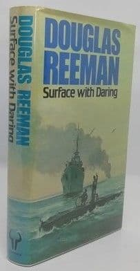 Douglas Reeman SURFACE WITH DARING First Edition Double Signed