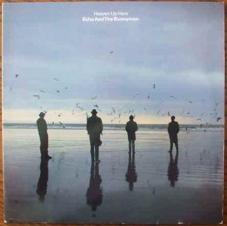 Echo And The Bunnymen HEAVEN UP HERE Vinyl LP