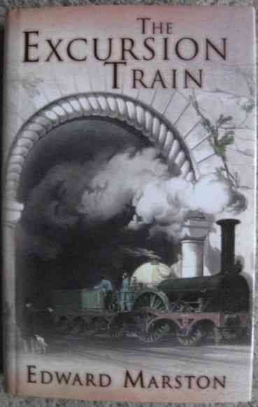 Edward Marston THE EXCURSION TRAIN First Edition Signed