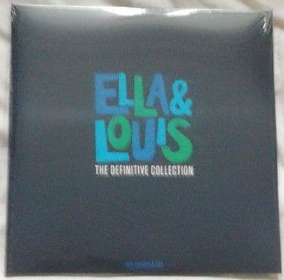 Ella Fitzgerald Louis Armstrong ELLA AND LOUIS: THE DEFINITIVE COLLECTION 4LP Gatefold Set Sealed