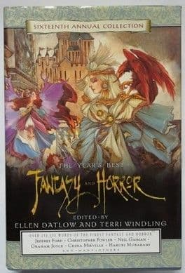 Ellen Datlow Terri Windling FANTASY AND HORROR First Edition Double Signed